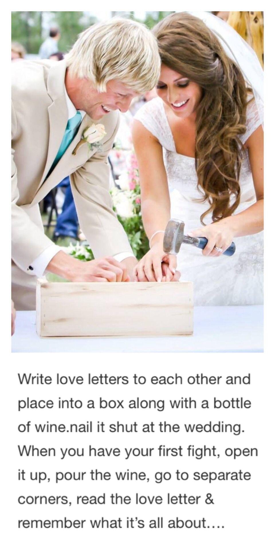 Wedding Trend: The Wedding First Fight Box