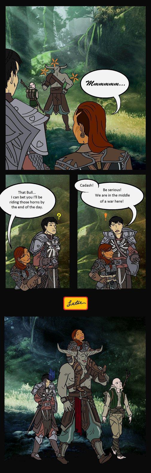 Geez Cassandra, such a dirty mind. ;)