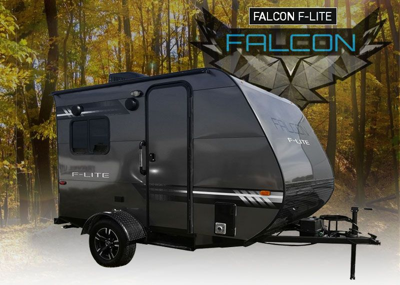 Falcon F Lite Trailer Small Travel Trailers