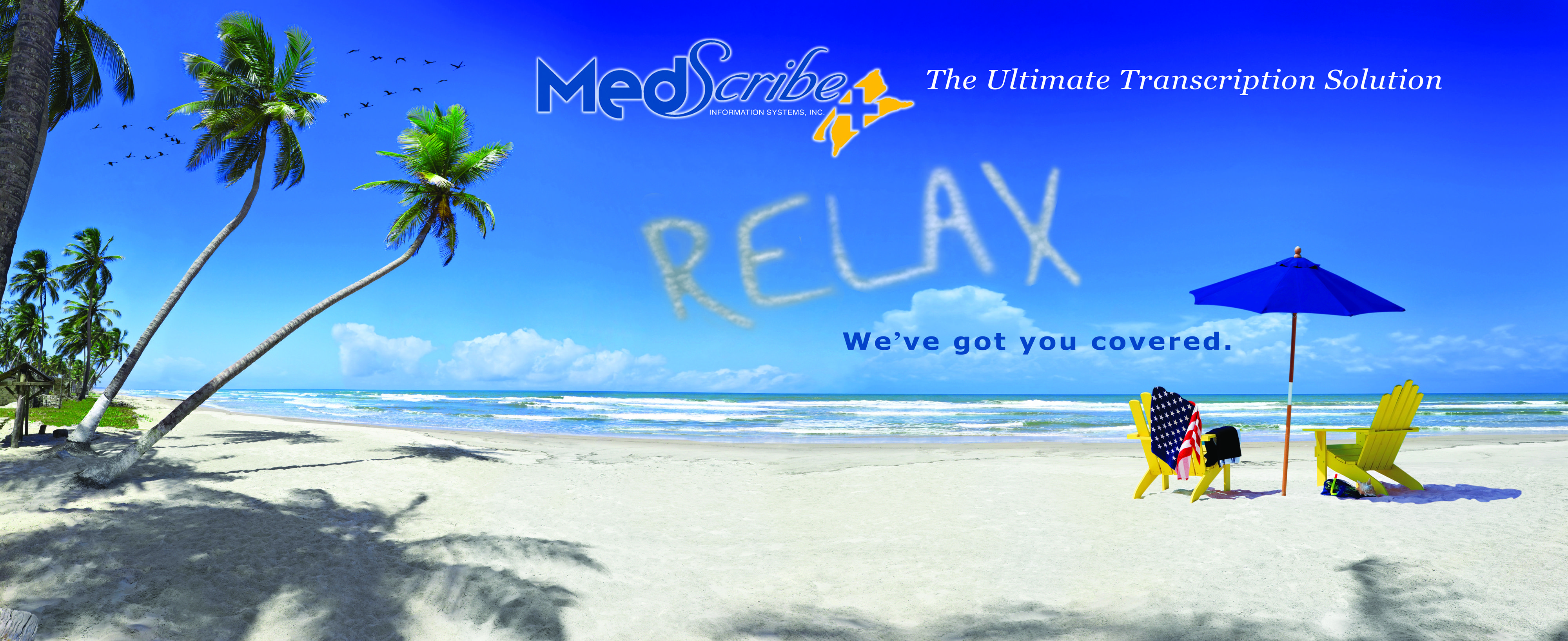 Relax with MedScribe! Outdoor, Solutions, Relax