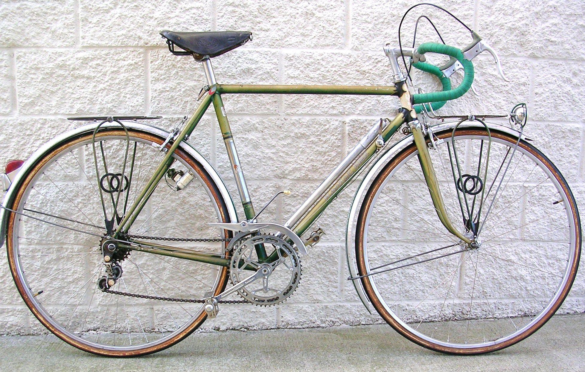 1950s Rochet Touring Bike Classic Cycle Bainbridge Island Kitsap County Touring Bike Bike Bicycle