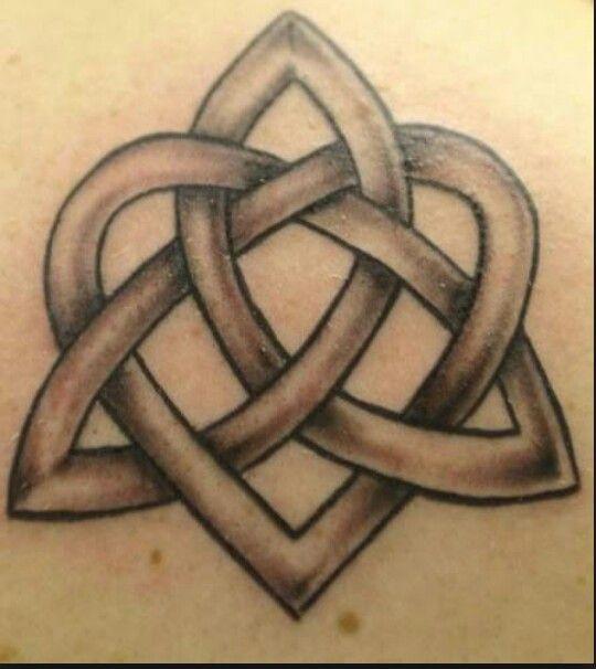 Celtic Knot Trinity Knot Tattoo Design Tattoos Pinterest