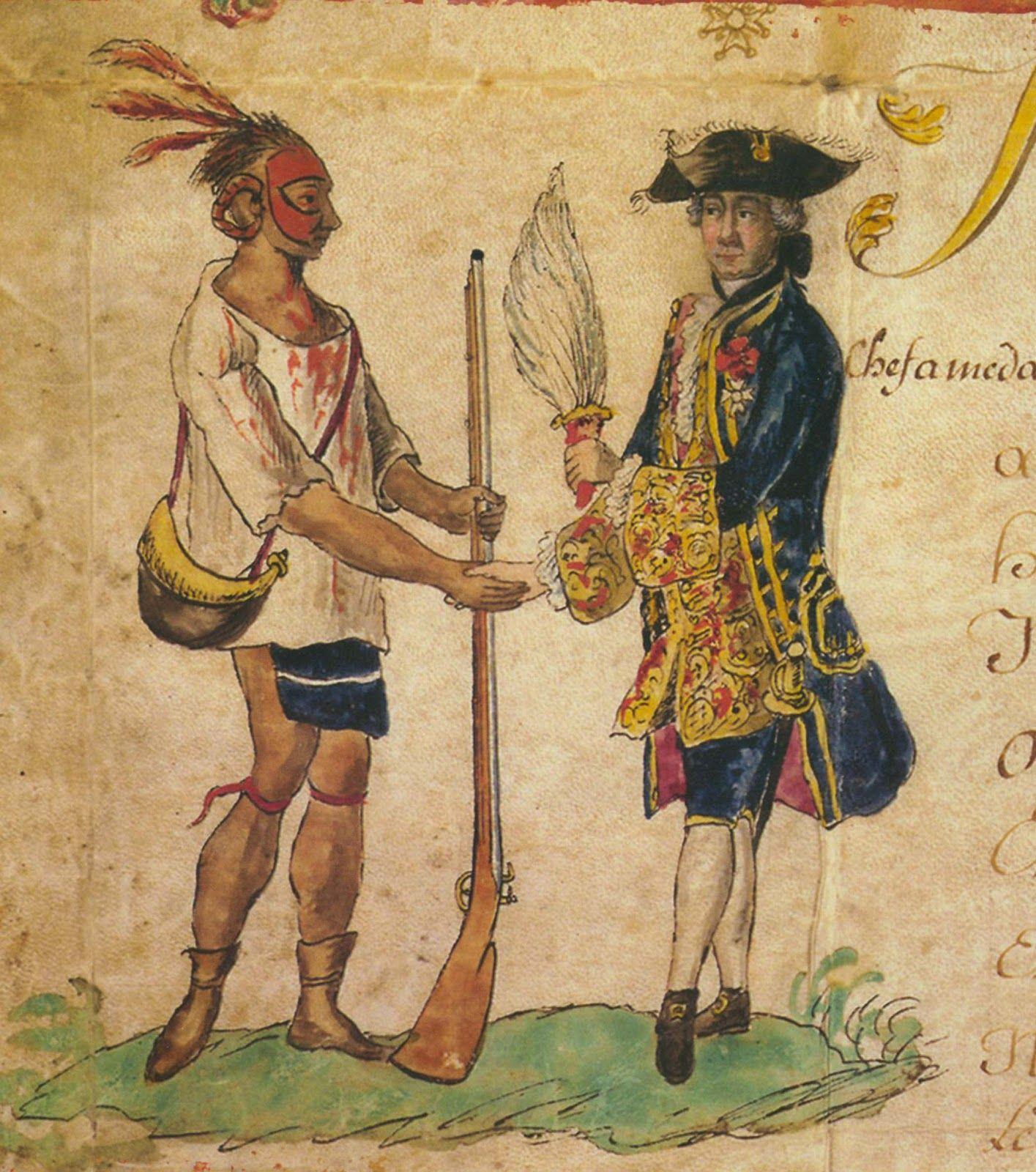 Cherokee, 1765