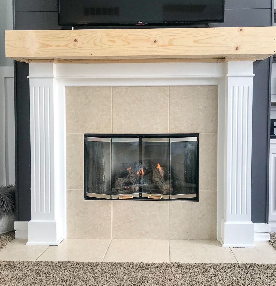 How To Build A Raised Fireplace Hearth Repurpose Life Build A Fireplace Fireplace Hearth Diy Fireplace Makeover