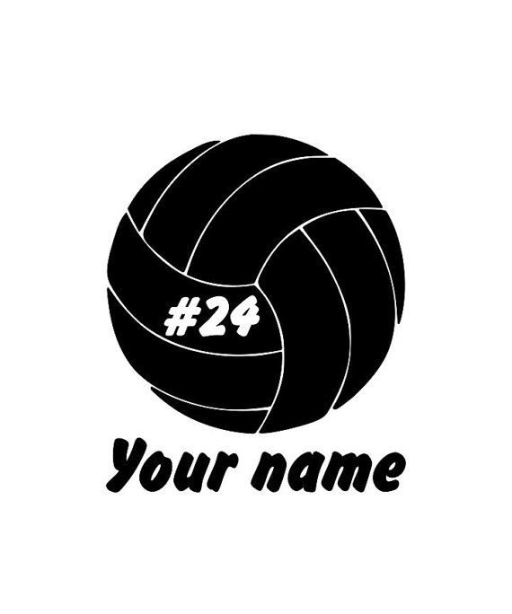 Volleyball Player Car Decal Support Your Kid Etsy In 2020 Volleyball Players Volleyball Car Decals