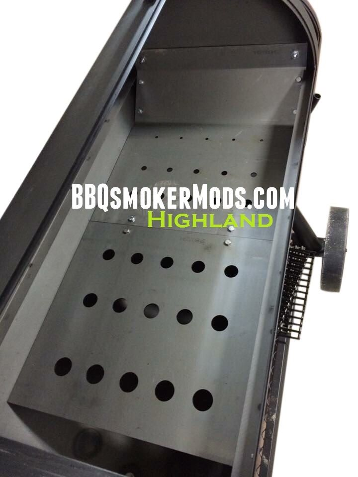 oklahoma joe highland horizontal baffle plate heat deflector tuning by lavalock highlands. Black Bedroom Furniture Sets. Home Design Ideas