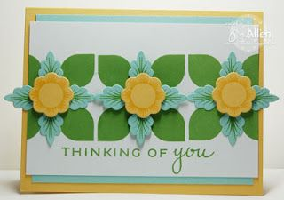 My Stampin' Spot: PTI Blog Hop Jen Allen created this wonderful card with Lovely Layers stamps from PTI