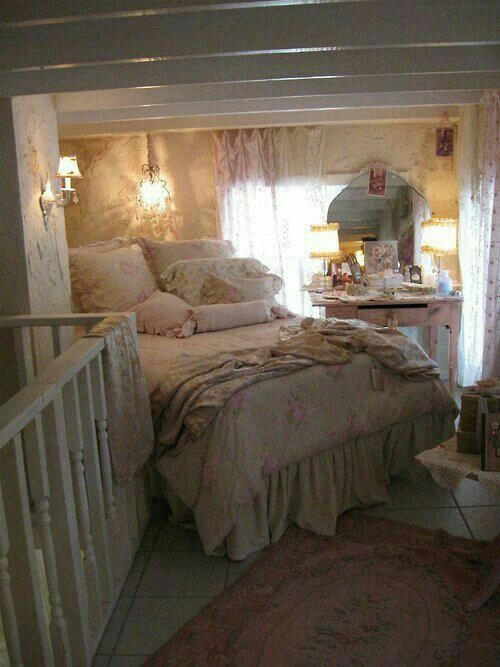 Pin de Caroline Taylor en Beds and bedding Pinterest Recamara y - decoracion recamara vintage
