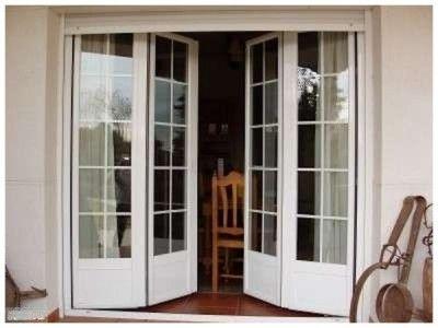 Modelos de puertas de aluminio y vidrio portes en for Puertas interiores de aluminio y cristal