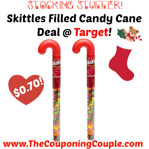 Skittles Filled Candy Cane Deal Target
