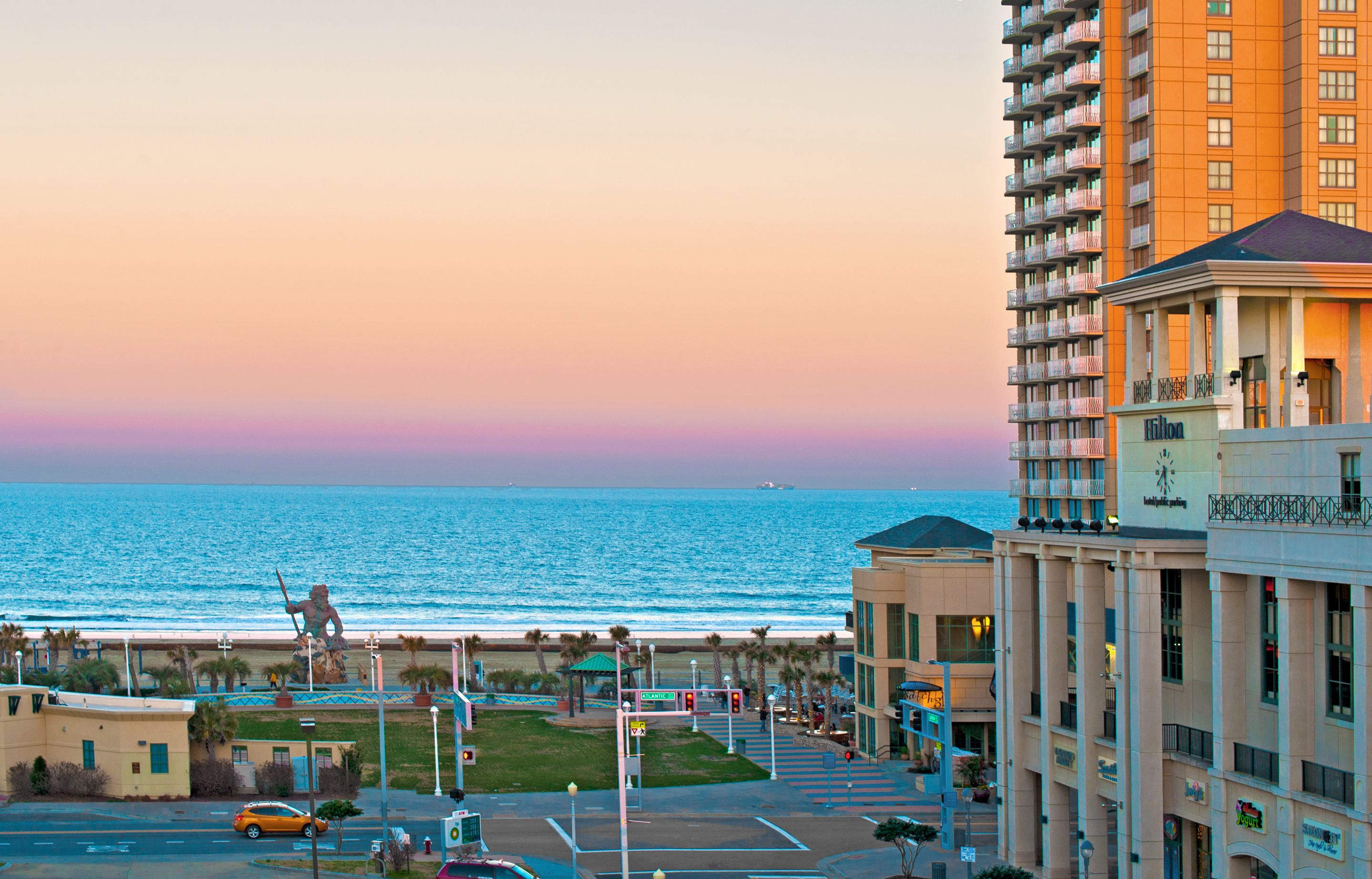 beautiful VA Beach boardwalk views from The Summer House Apartments ...