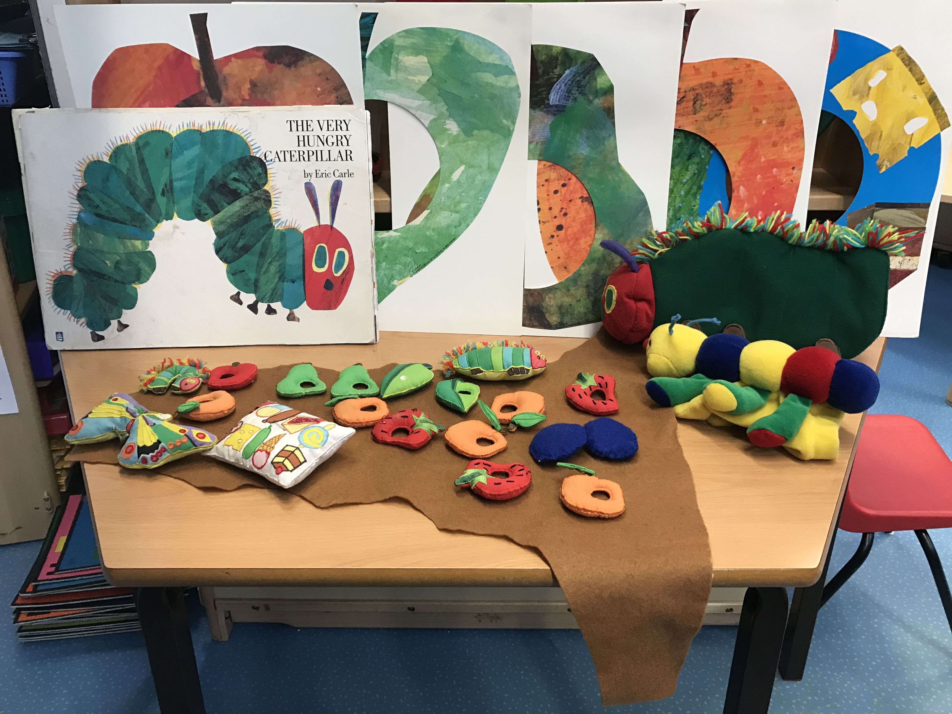 The hungry caterpillar story station