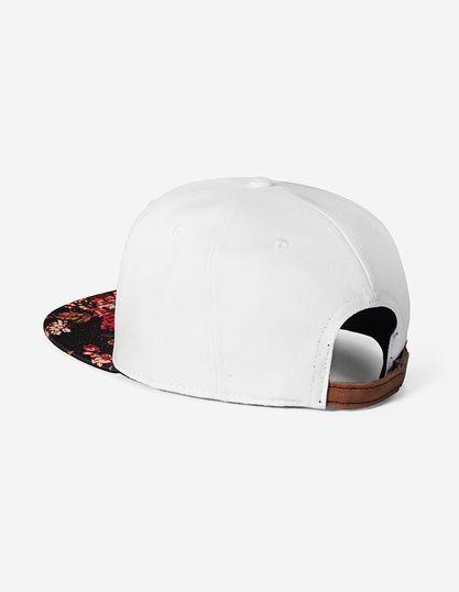 snapback-branco-aba-floral 300032 3  d6bca18e3bb