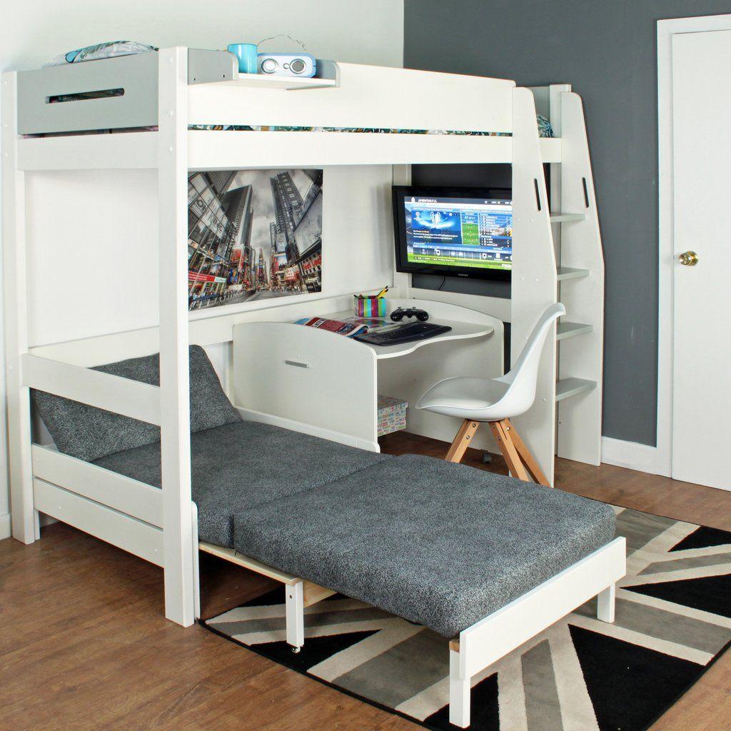 Loft bed with desk south africa  K kylie on Pinterest
