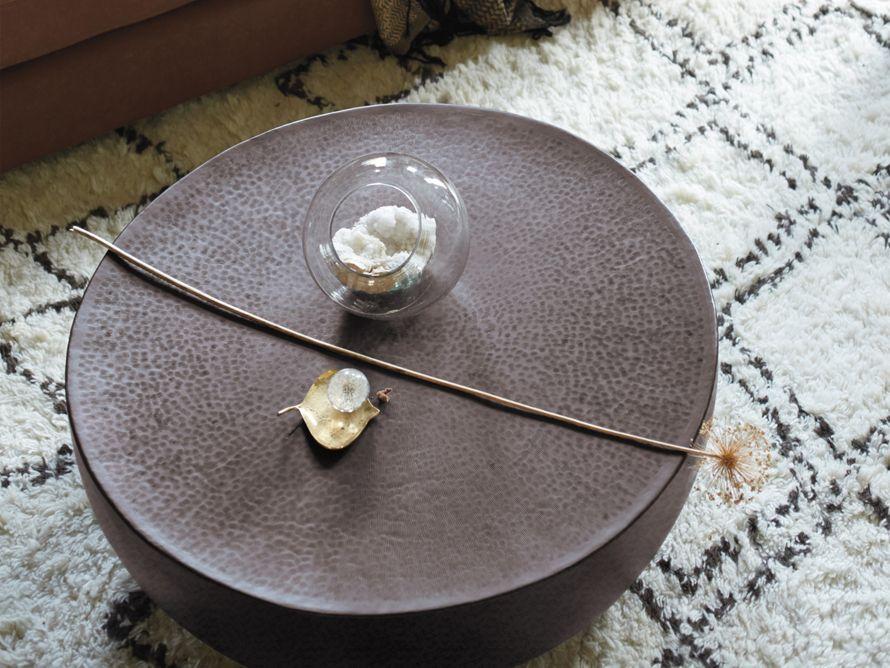 Radial Drum Coffee Table Arhaus Furniture Drum Coffee