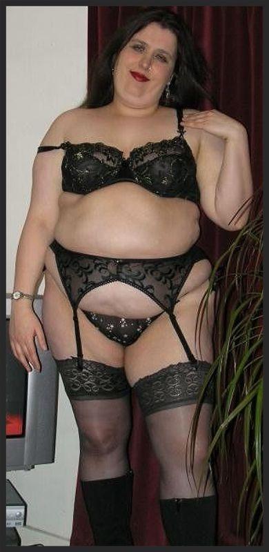 BBW in black stockings   Rubenesque   Pinterest