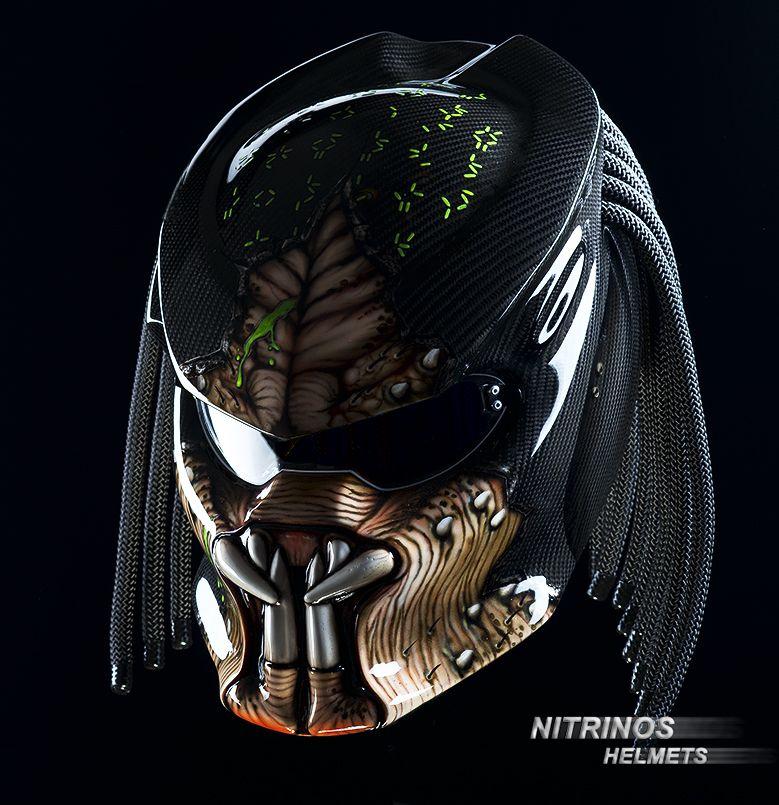 Carbon Helmet Predator Nitrinos Helmets Is A Guarantee Of Quality