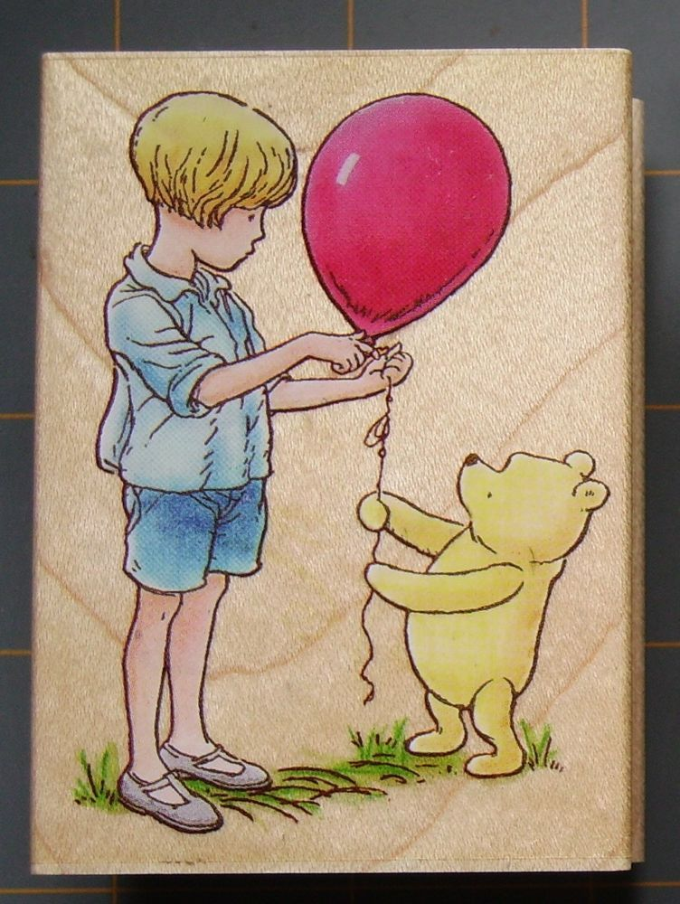 7092feca4 Details about DISNEY CLASSIC WINNIE THE POOH & FRIENDS RUBBER STAMPS ...