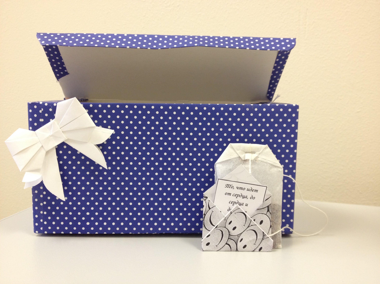 Подарки из чайных пакетиков своими руками 658