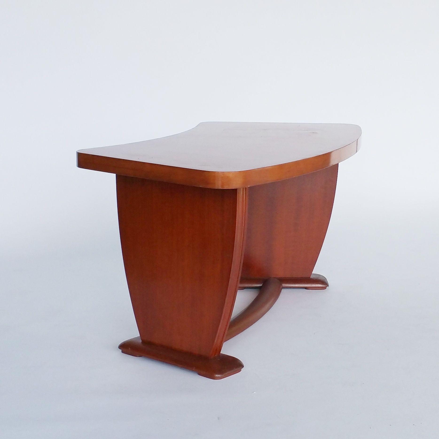Art Deco Bijzettafel.Art Deco Gebogen Salontafel Of Bijzettafel Pinterest Art Deco