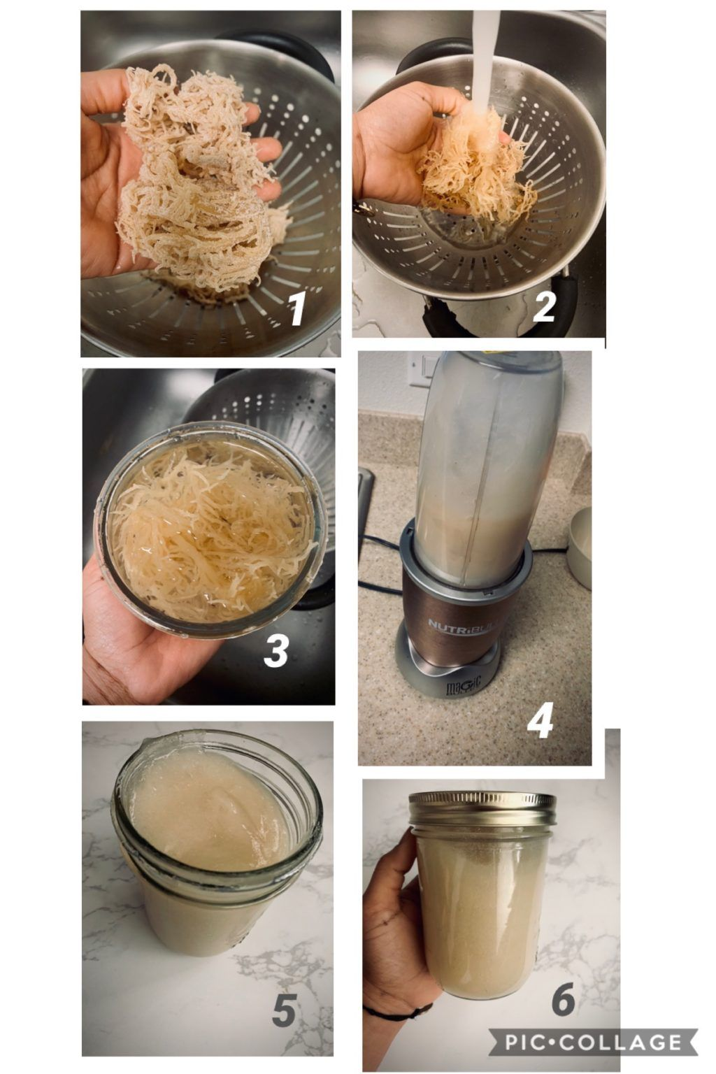 How To Make Sea Moss Gel No Heat Required That Green Lyfe Recipe Sea Moss Raw Food Recipes Workout Smoothie Recipes