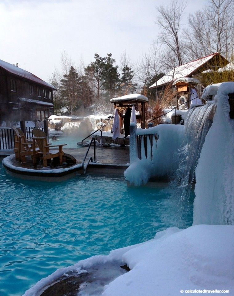 Saying Ahhh At Scandinave Spa Switzerland In Ontario Hiking Trip Spa Vacation Spots