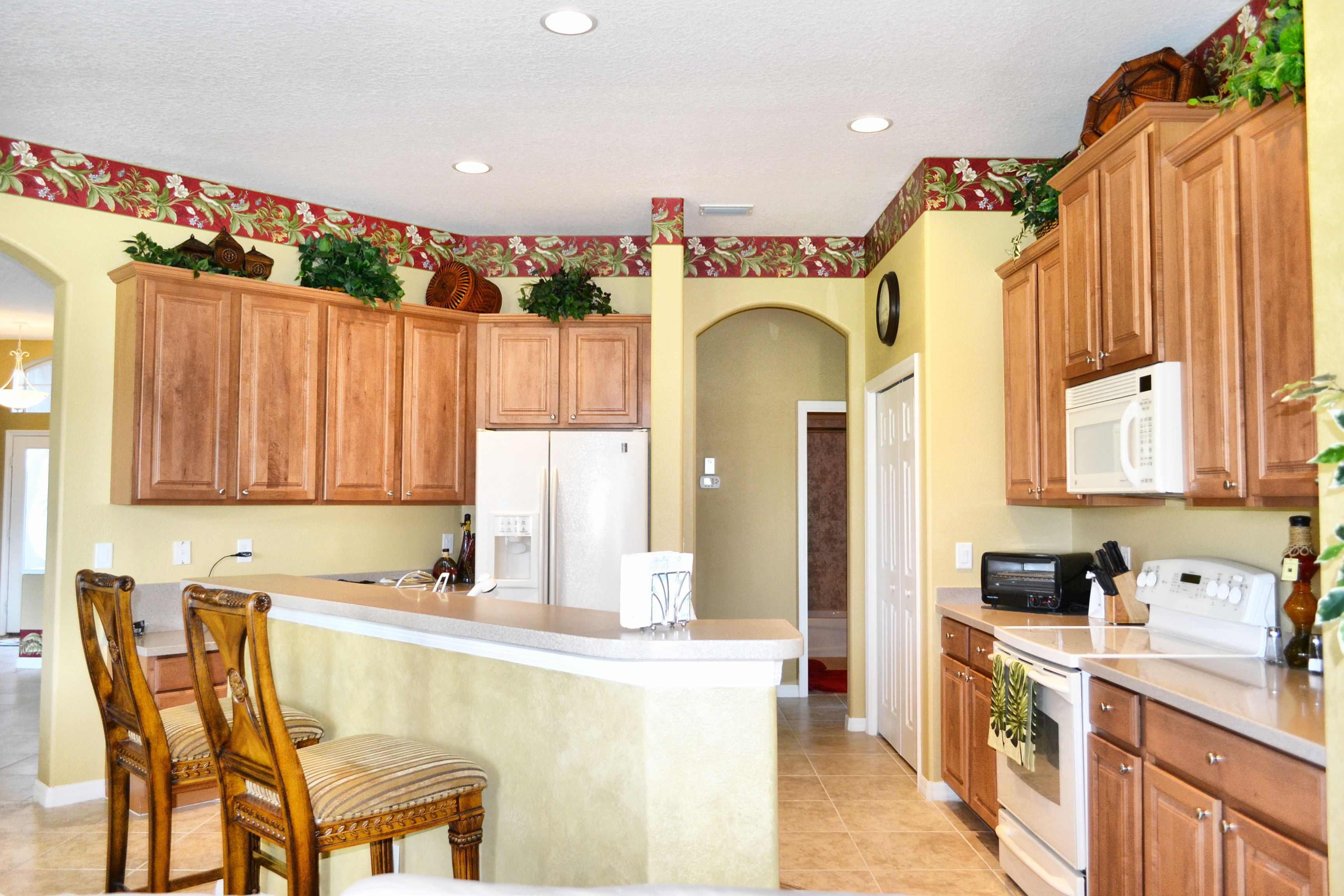 Parrish, Florida Tropical Style Kitchen, Island, Tommy ...