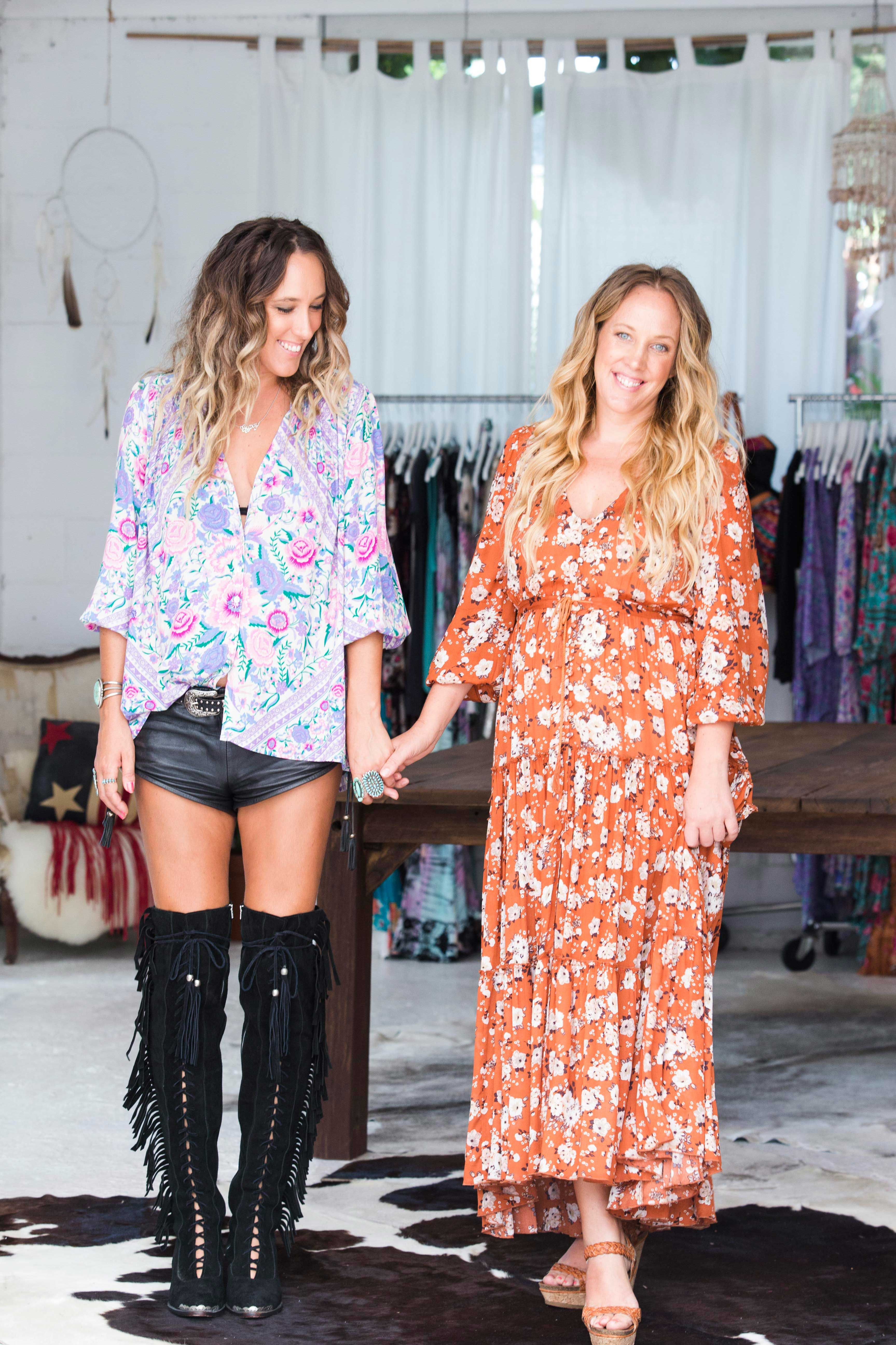 7a36c8487c8 At home in Byron Bay with the talented sisters behind modern-bohemian  fashion brand Spell & The Gypsy Collective talking style, motherhood and  more.