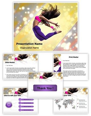 Jazz dance powerpoint template is one of the best powerpoint jazz dance powerpoint template is one of the best powerpoint templates by editabletemplates toneelgroepblik Choice Image