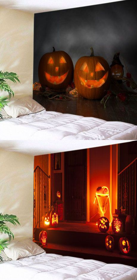 60+ Halloween tapestry Ideas for a Spooky Party Pinterest - halloween party decorations for adults