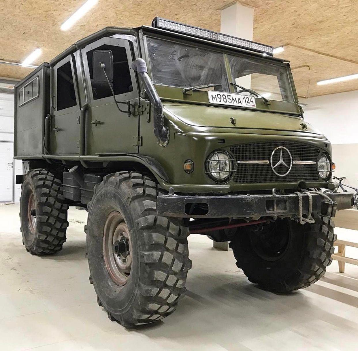 Mercedes-Benz Unimog 4x4   When The Sh!t Hits The Fan