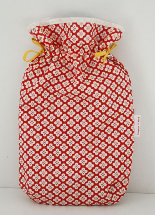 Fat quarter sewing: hot water bottle cover tutorial | Water bottle ...