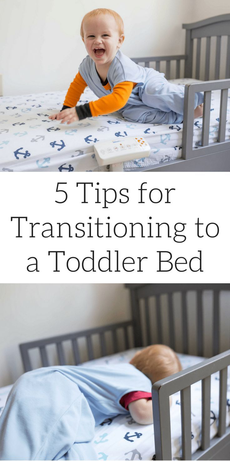 5 Tips for Transitioning to a Toddler Bed | Toddler twin ...