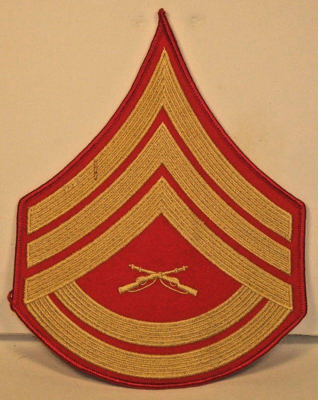 0dafe898004 USMC US Marine Corps Male Gunnery Sergeant Chevron For Evening Dress ...