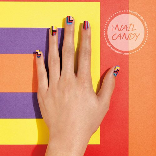 Diy Nail Ideas Doc Martens Nail Art And More Of Our: Stripes Stripes Stripes
