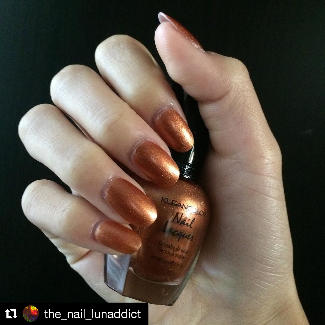 Warm up your nails this winter with our nail lacquer in copper (045 ...
