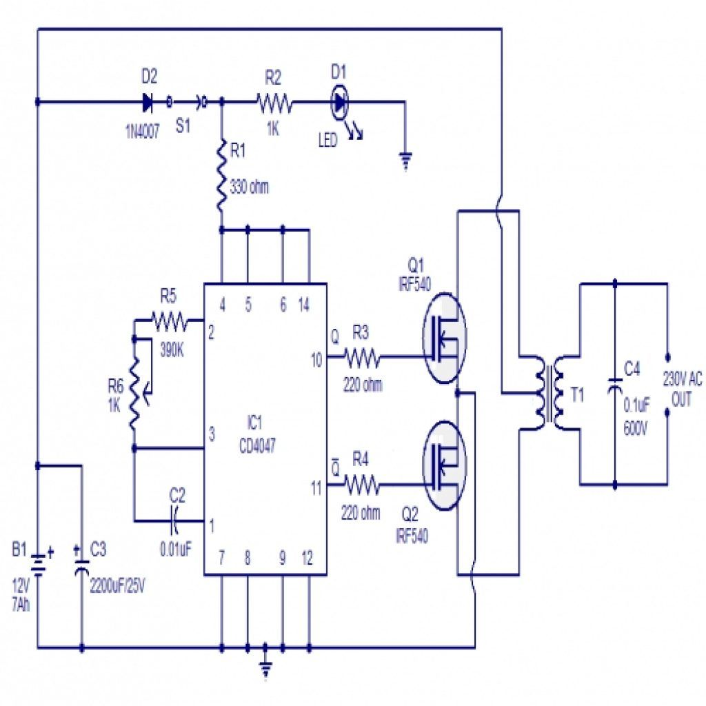 Mosfet Inverter Schematic Diagram Wiring Diagram Listrik Sederhana