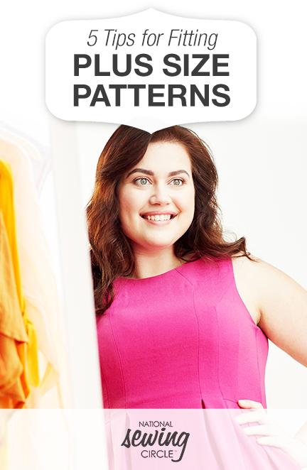 5 Tips for Fitting Plus-Size Patterns   Pinterest   Näharbeiten ...