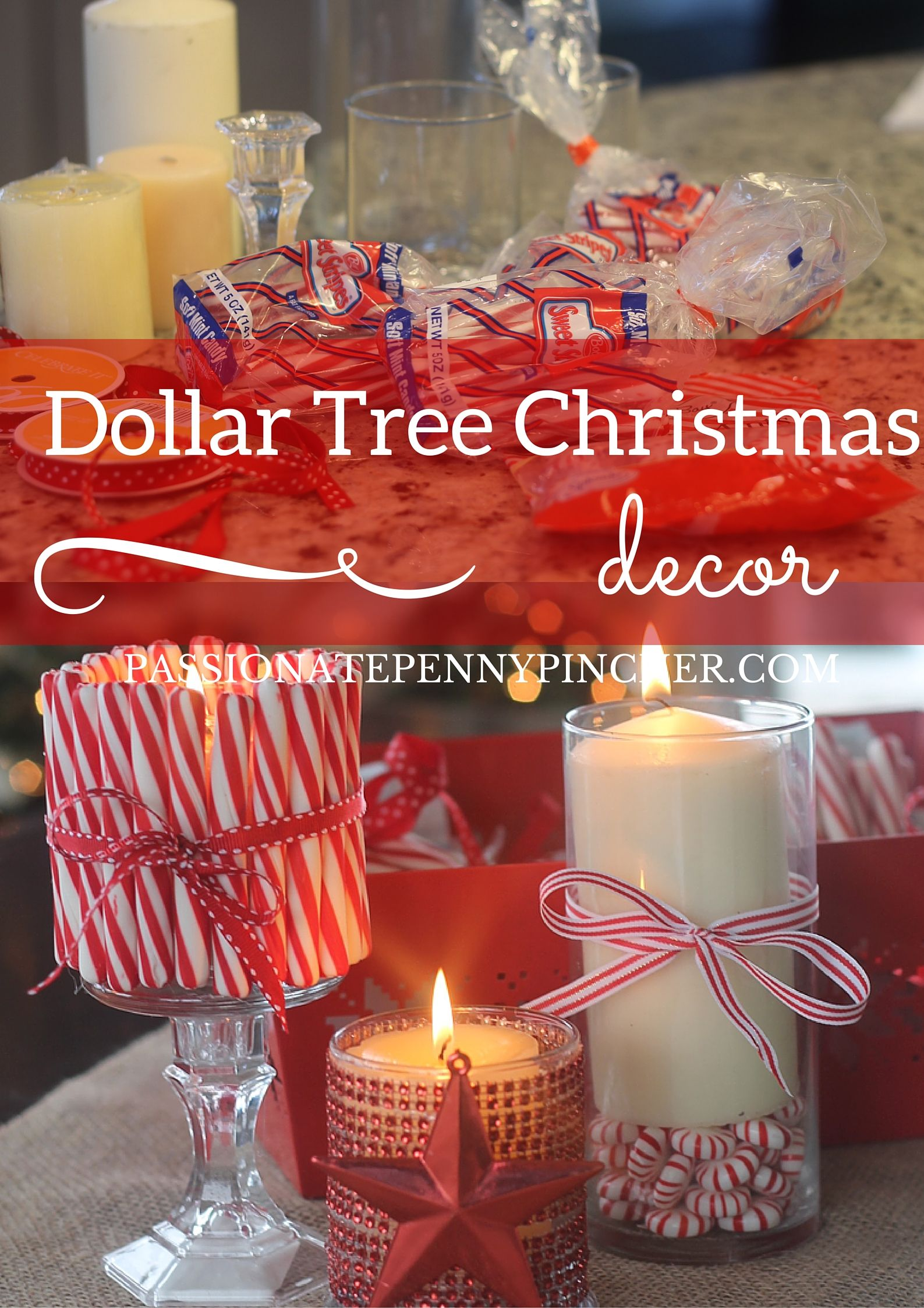 friday fluff up christmas decorating at the dollar tree - Dollar Tree Decorations