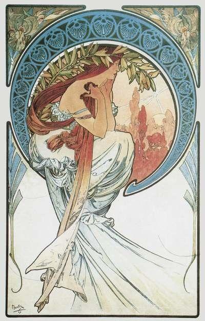 Alphonse Mucha- Art Series: Poetry