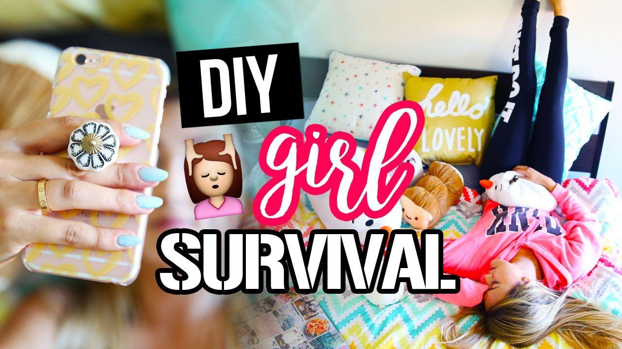 Diy Hacks For Girl Survival Laurdiy Hacks Diy