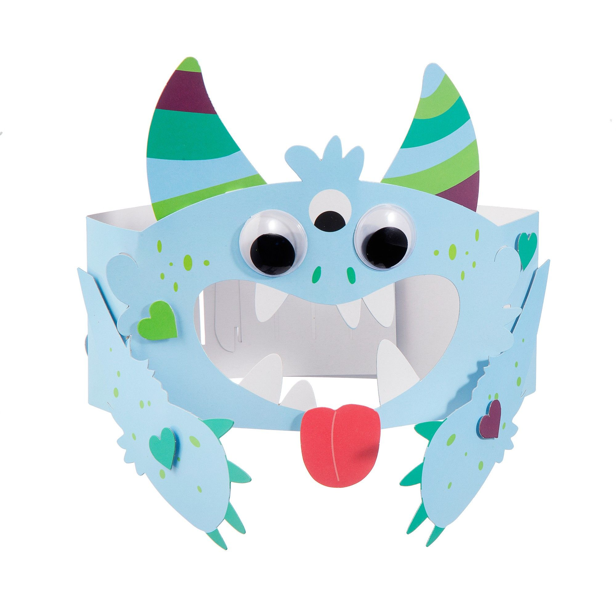 b9a8549f6 Valentine's Day Craft Crown Kit Monster - Spritz, Multi-Colored ...