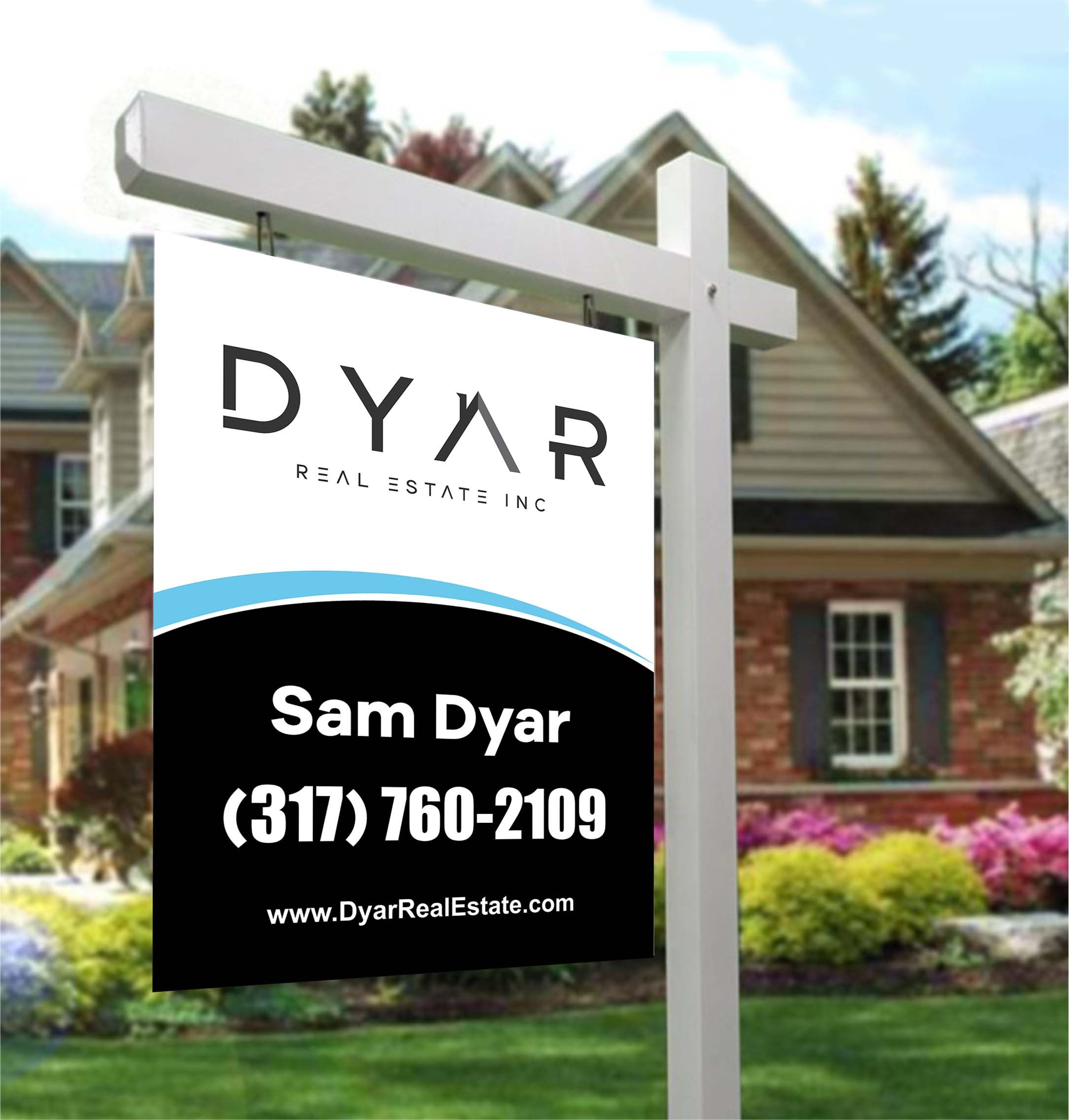 Virtualine I Will Design Professional Real Estate Yard Sign For 25 On Fiverr Com Real Estate Yard Signs Real Estate Sign Design Yard Signs Yard of the month sign template