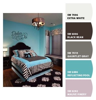 Paint colors from Chip It! by Sherwin-Williams Bedroom Office