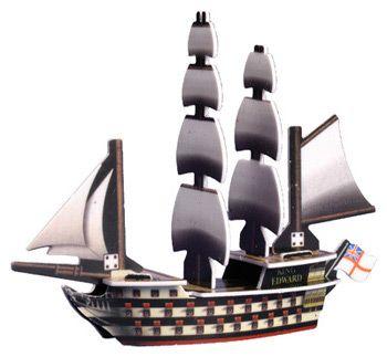PotSM 047 - English ship HMS King Edward
