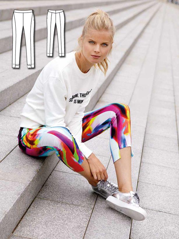 Sporty Chic: 11 New Women\'s Sewing Patterns | Pinterest | Nähen und ...