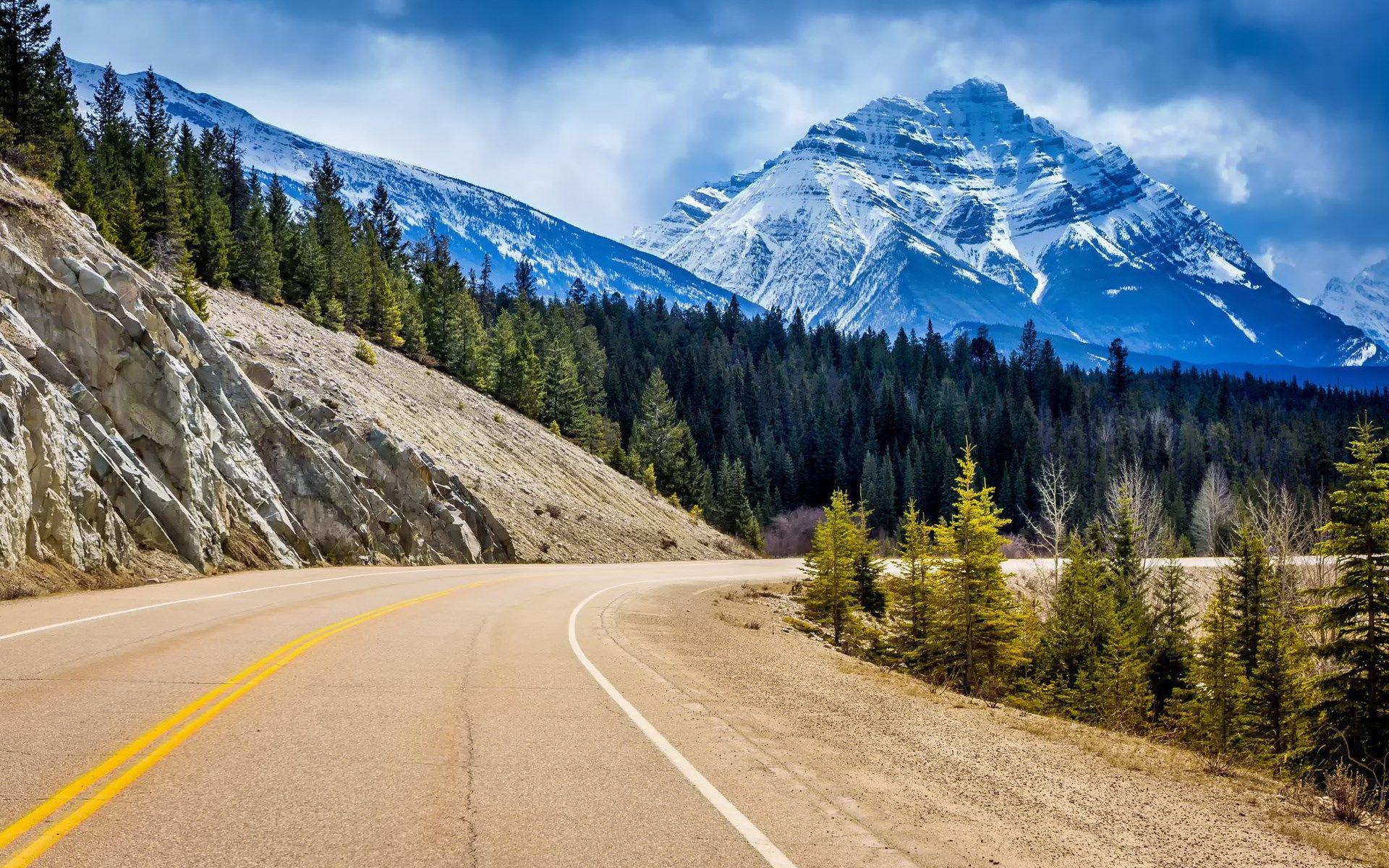 Download Nature Wallpaper For Desktop 1920x1200 Pemandangan Alam Perjalanan Kereta Api