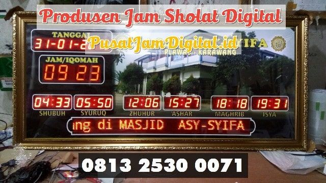 Pin Di Alarm Adzan Digital