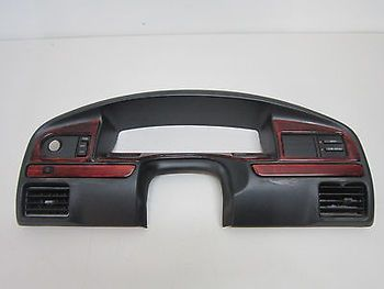 92 93 94 95 96 Ford F150 F250 F350 Bronco Dash Speedometer Bezel Woodgrain Ford F150 Bronco F250