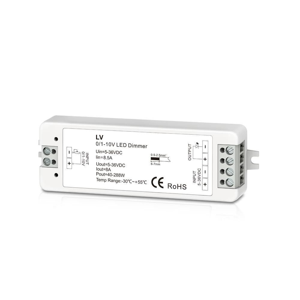 0 1 10v 1ch 8a Dimmable Switches Led Driver 1 Channel 0 10v Constant Voltage Led Dimmer Led Dimming Controller Pwm Led Dimmer 5 Led Drivers Led Dimmer Led